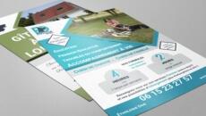 Je crée votre flyer ou affiche percutant