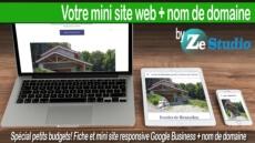 Je crée votre mini-site Google Business