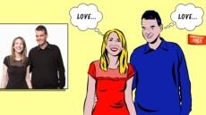 Votre Portrait Pop Art façon Lichtenstein