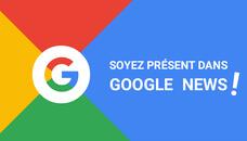 Je rédige un article avec lien dans Google News !