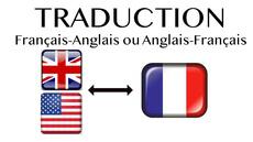 Traduction anglais-français rigoureux et pro