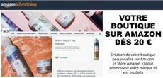Votre Boutique sur Amazon dès 20 € !