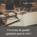 Rédaction de textes optimisés de qualité !