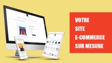 Je crée votre site E-commerce sur mesure