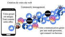 Communication web : e-boutique, réseaux sociaux