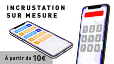 Incrustation sur Iphone