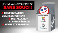 Installation sans souci de Joomla, Wordpress , Woo