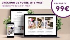 Création de votre site web responsive, clé en main