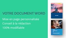 Je mets en page vos documents ou dossiers WORD