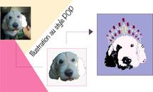 Le portrait de votre animal au style pop !