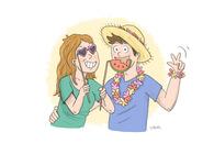 Je dessine votre portrait de couple personnalisé !