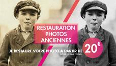 Restauration de photos anciennes, abîmées