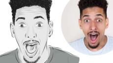 Je crée un portrait stylisé