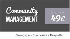 Community Management - Je gère votre image