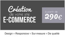 Création de votre site e-commerce : SUR-MESURE