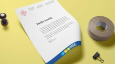 Votre logo personnalisé web et print.