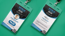 Votre badge entreprise personnalisé