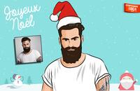 Je crée votre portrait digital spécial Noël