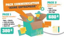 "Pack Communication ""jeune entreprise"""