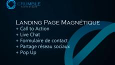 Je crée votre landing page magnétique