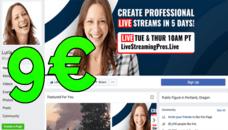 Je Vais Créer et Designer Votre Page Facebook Pro
