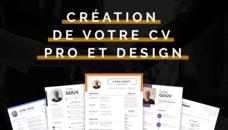 Création de votre CV professionnel et design