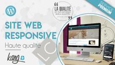 Je développe votre site web responsive