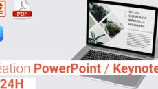 Votre PowerPoint/Keynote en 24H !