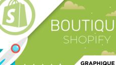 Création de votre site Shopify Design & responsive