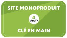 Création site Shopify (mono-produit)