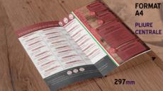 Je crée votre menu restauration rapide qualité professionnelle
