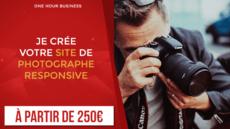 Je crée votre site de Photographe responsive