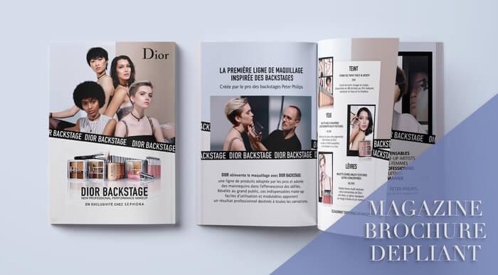 Je fais vos mises en page : Magazine, Leaflet, Dépliant