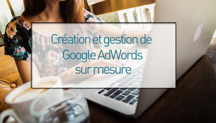 Je réalise votre campagne AdWords + cours PDF