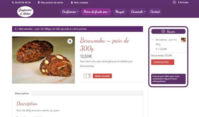 Je crée votre site E-commerce