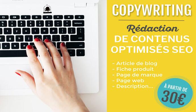 Copywriting : Je rédige votre contenu optimisé SEO