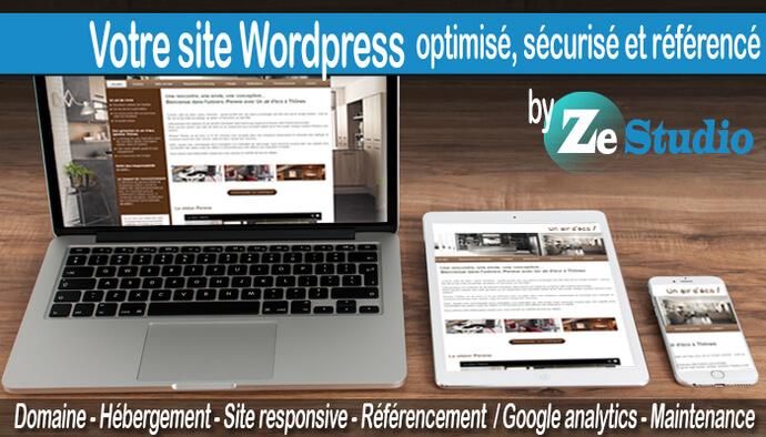 Je crée votre site responsive sécurisé&référencé