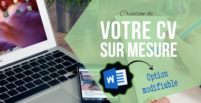 Votre CV au format Word ! (Design & Conseil)