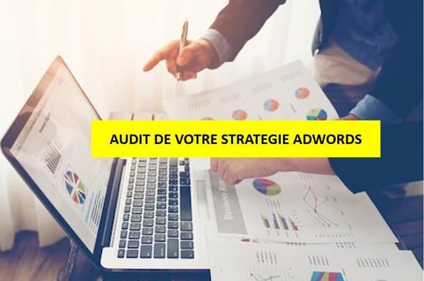 J'audite et affine votre stratégie Adwords dès 10€