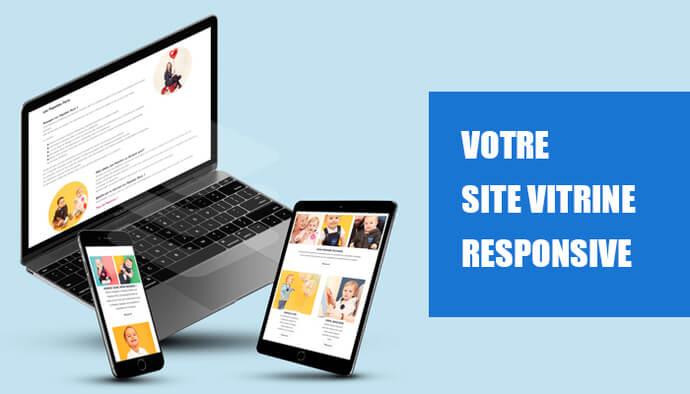 Je crée votre vitrine web responsive