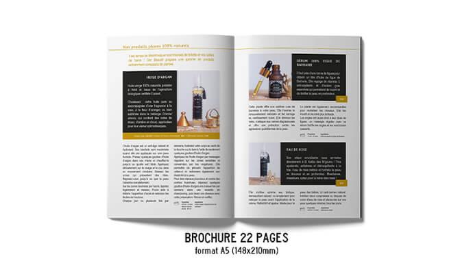 BROCHURE & PLAQUETTE⎪Vos produits en détail