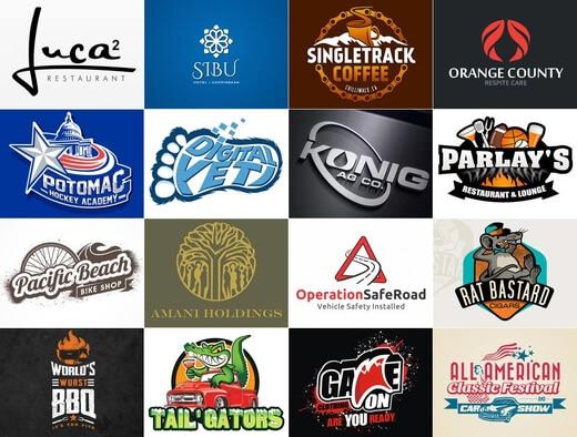 Je vais créer et modifier votre logo personnalisé