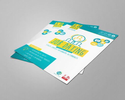 Conception de votre affiche & flyer personnalisé