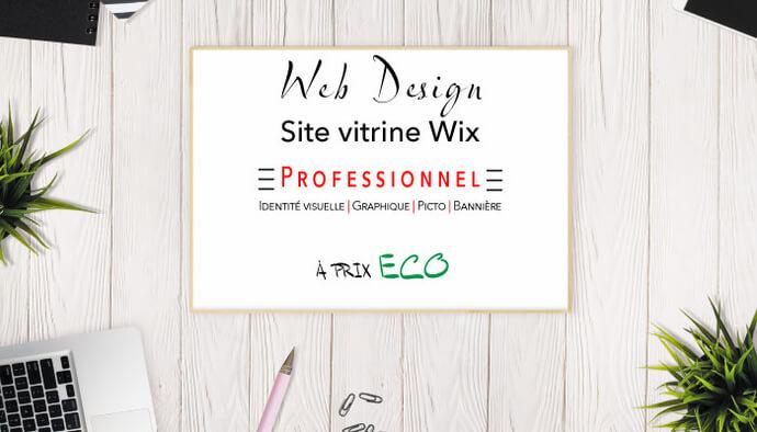 Votre site vitrine responsive sur WIX