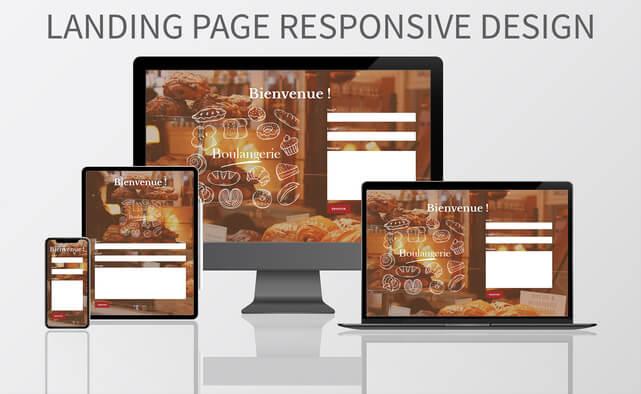 Je crée votre Landing Page RESPONSIVE