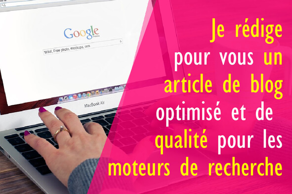 Votre article de blog optimisé SEO