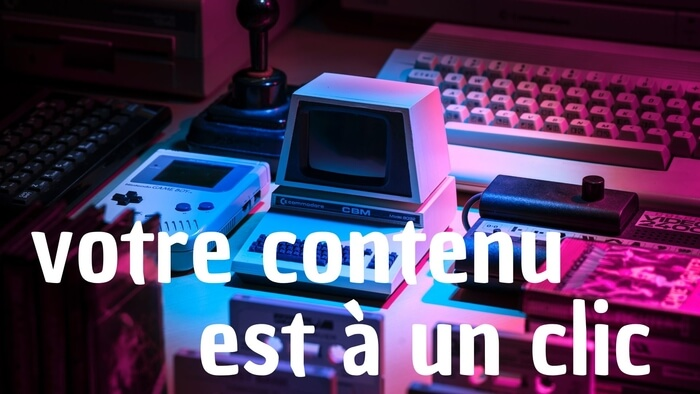 Je rédige votre contenu (Français - Anglais)