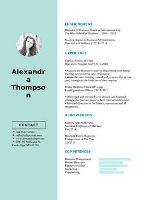 Dur d'éditer votre CV ? Personnalisation en 48h !