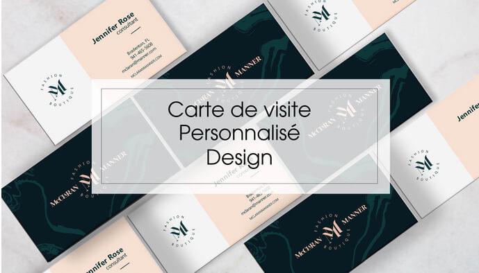 Je réalise votre carte de visite design