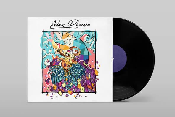 Je Crée Votre Couverture D'Album De Musique